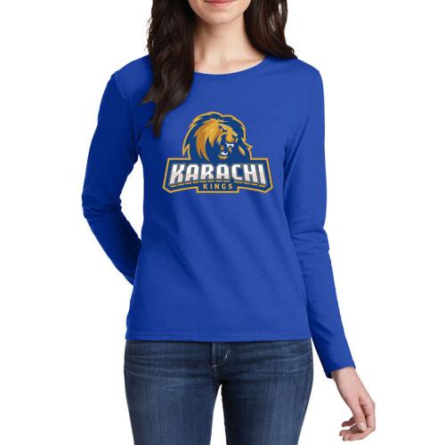 Karachi Kings Blue Full Sleeves T-Shirt