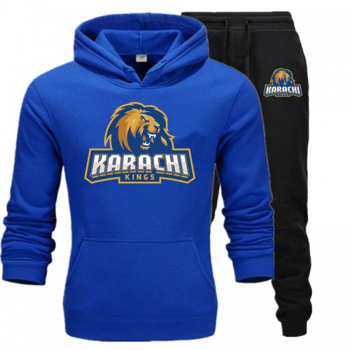 Karachi Kings Best Quality Blue Tracksuit