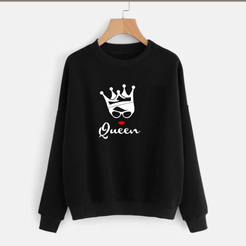 Queen Black Best Quality Sweatshirt