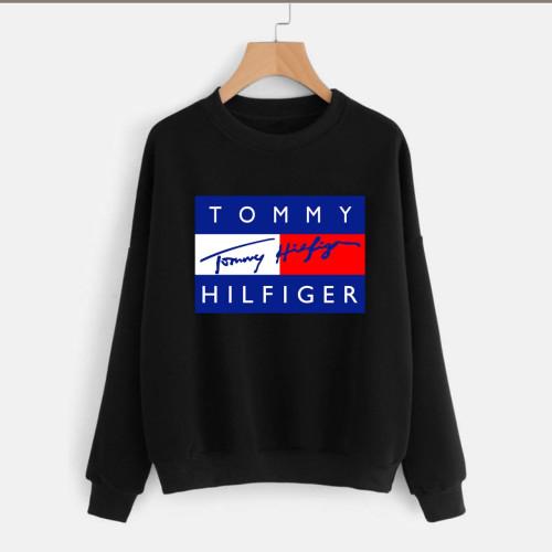 Tommy Black Good Quality Sweatshirt