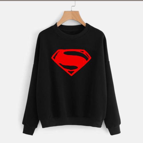 Superman Black Fleece Sweatshirt