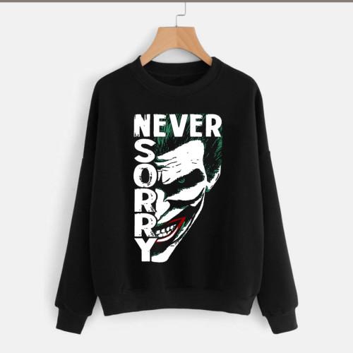 Joker Black Fleece Sweatshirt