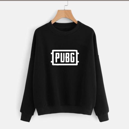 Pubg Black Pullover Sweatshirt Unisex