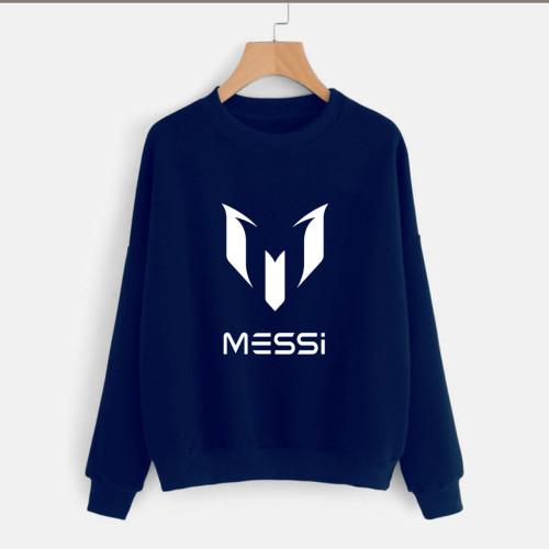 Messi Navy Blue High-Quality Sweatshirt