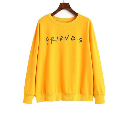 Friends Yellow Sweatshirt For Women