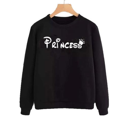Princess Black Best Quality Sweatshirt For Women