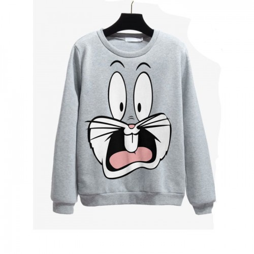 Bugs Bunny Grey Sweatshirt For Ladies