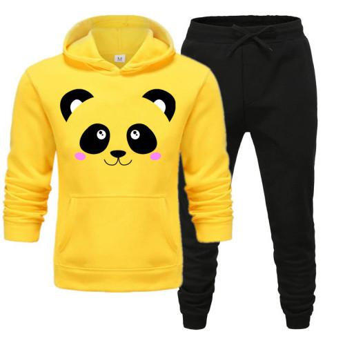 Panda Yellow Premium Quality Tracksuit For Women