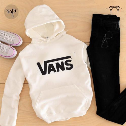 Vans White Tracksuit For Ladies