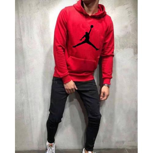 Jordan Red Winter Tracksuit For Boys