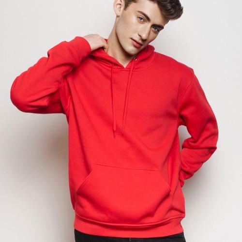 Plain Red Hoodie