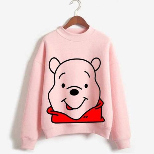 Honey Pink High-Quality Sweatshirt For Women's