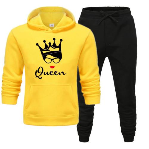 Queen Premium Quality Yellow Winter Tracksuit