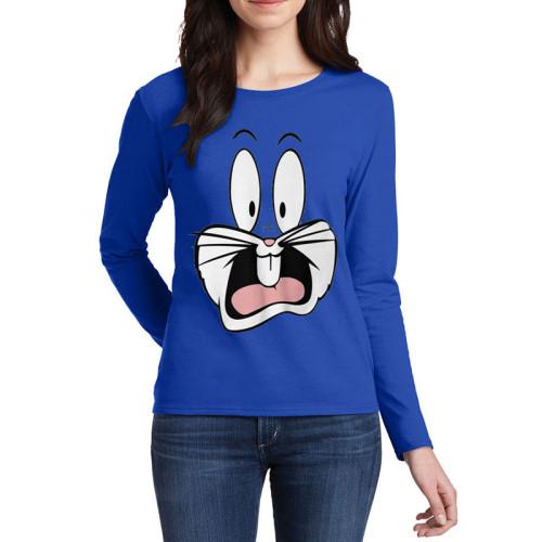 Bugs Bunny Blue Full Sleeves T-Shirt