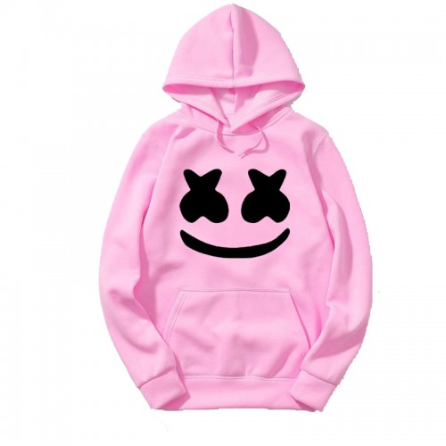 Marshmellow Best Quality Pink Hoodie For Women
