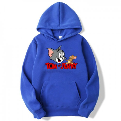 Buy Tom & Jerry Blue Pullover Hoodie