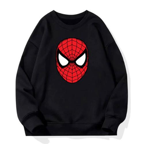 Spiderman Black Sweatshirt For Boys